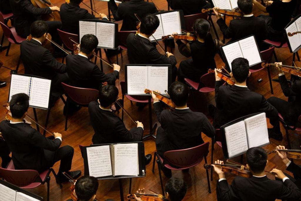 Orchester oder Ensemble an einer Musikschule